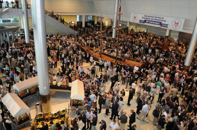 crowds at a conference