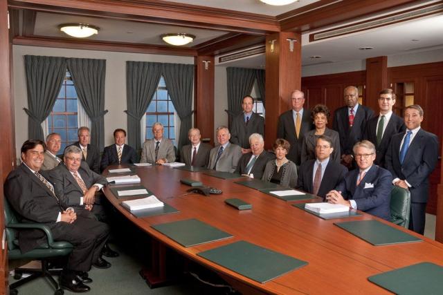 Bank Board of Directors group photo
