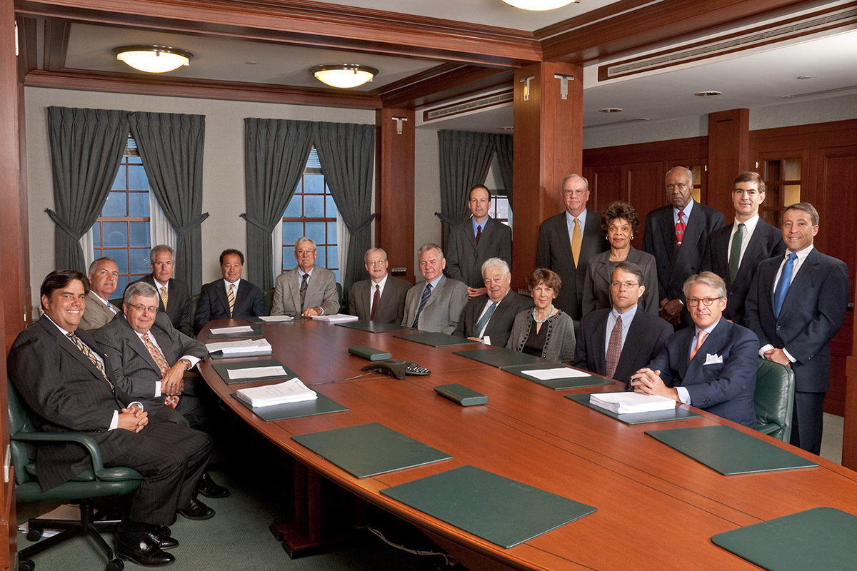 Bank Board of Directors group photo