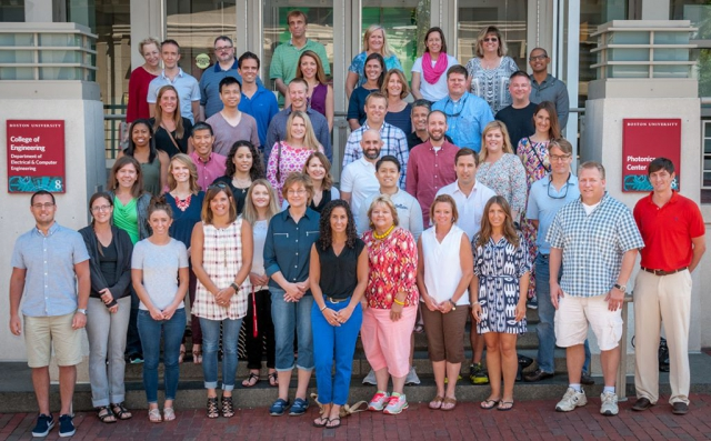 wummer workshop attendees group photo