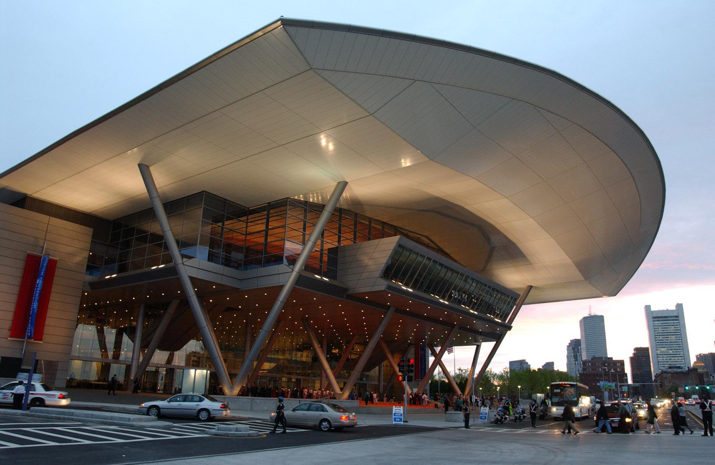Boston's BCEC exterior