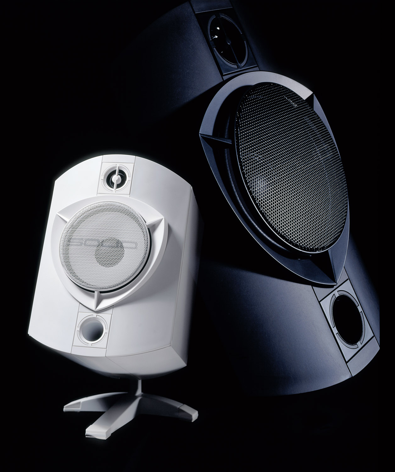 product photo of loudspeakers